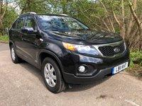 2011 KIA SORENTO 2.2 CRDI, LEATHER, SAT NAV, 7 SEATER, AUTO 195 BHP £8500.00