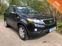 USED 2011 11 KIA SORENTO 2.2 CRDI, LEATHER, SAT NAV, 7 SEATER, AUTO 195 BHP