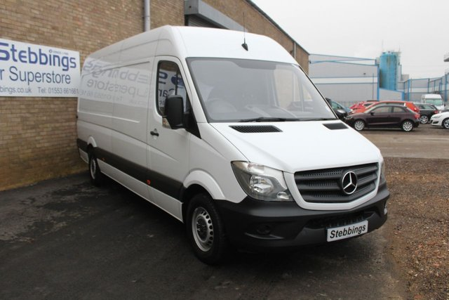 2017 17 MERCEDES-BENZ SPRINTER 2.1 314CD LWB PANEL VAN