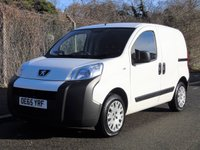 USED 2016 65 PEUGEOT BIPPER 1.2 HDI PROFESSIONAL 75 BHP SWB CAR DERIVED PANEL VAN (SIDE DOOR) +E/W+E/M+SIDE DOOR+