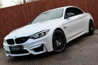 USED 2018 18 BMW M4 2018 3.0 M4 COMPETITION 2d AUTO 444 BHP