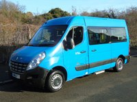 USED 2011 11 RENAULT MASTER 2.3DCI MM33 100BHP MWD 5 SEATER DISABLED PASSENGER MINI BUS +GENUINE 56K+NEW CLUTCH+