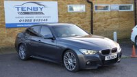 2013 BMW 3 SERIES 3.0 330D M SPORT 4d AUTO 255 BHP £13484.00