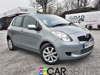 USED 2007 07 TOYOTA YARIS 1.3 L ZINC 5d 86 BHP 1 PREVIOUS OWNER + SERVICE