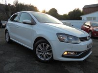 USED 2015 65 VOLKSWAGEN POLO 1.0 SE 5d 74 BHP DAB DIGITAL RADIO & BLUETOOTH CONNECTIVITY