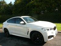 2015 BMW X6 3.0 XDRIVE30D M SPORT 4d AUTO 255 BHP £34550.00