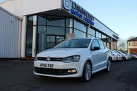 2016 VOLKSWAGEN POLO 1.4 TSI BlueMotion Tech ACT BlueGT DSG (s/s) 5dr £13385.00