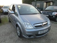 USED 2010 59 VAUXHALL MERIVA 1.4 CLUB 16V TWINPORT 5d 90 BHP EXCELLENT VALUE LOW MILEAGE