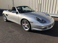 USED 2004 04 PORSCHE BOXSTER 3.2 S 248 BHP MANUAL BLACK LEATHER, 18 INCH ALLOYS, FULL HISTORY, STUNNING EXAMPLE!