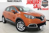 USED 2014 14 RENAULT CAPTUR 0.9 DYNAMIQUE MEDIANAV ENERGY TCE S/S £30 ROAD TAX FULL SERVICE HISTORY FULL SERVICE HISTORY + £30 12 MONTHS ROAD TAX + SATELLITE NAVIGATION + BLUETOOTH + PARKING SENSOR + CRUISE CONTROL + MULTI FUNCTION WHEEL + AIR CONDITIONING + RADIO/CD/AUX/USB + 17 INCH ALLOY WHEELS