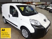 """USED 2015 65 PEUGEOT BIPPER 1.2 HDI PROFESSIONAL  VAN 75 BHP-ONE OWNER """"YOU'RE IN SAFE HANDS"""" - AA DEALER PROMISE"""