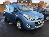 USED 2015 65 HYUNDAI IX20 1.6 ACTIVE 5d AUTO 123 BHP 3339 MILES ONLY AND HYUNDAI WARRANTY! CHEAP TO RUN , LOW CO2 EMISSIONS, LOW ROAD TAX , AND EXCELLENT FUEL ECONOMY! GOOD SPECIFICATION INCLUDING AIR CONDITIONING!