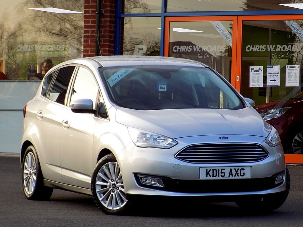 USED 2015 15 FORD C-MAX 2.0 TDCi TITANIUM 5dr POWERSHIFT (150)  * Sat Nav + Rear Privacy Upgrade *