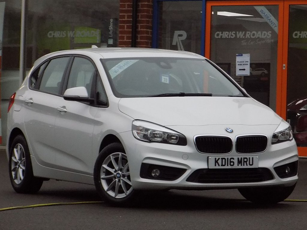 USED 2016 16 BMW 2 SERIES 216D 1.5 SE ACTIVE TOURER NAV 5dr AUTO  ** Sat Nav + BlueTooth + Cruise **