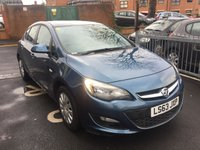 USED 2013 63 VAUXHALL ASTRA 1.6 EXCLUSIV 5d AUTO 115 BHP EXCELLENT CONDITION AND ECONOMICAL LOW MILEAGE DIESEL!! USB/AUX!! CRUISE CONTROL!! AIR CON!! REMOTE CENTRAL LOCKING!!