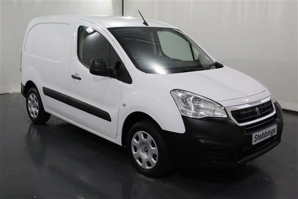 2017 17 PEUGEOT PARTNER 1.6 BLUE HDI PROFESSIONAL L1 PANEL VAN