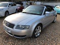 USED 2003 53 AUDI A4 2.5 TDI SPORT 2d AUTO 161 BHP