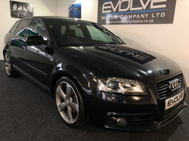2011 11 AUDI A3 2.0 SPORTBACK TDI S LINE SPECIAL EDITION 5d 138 BHP