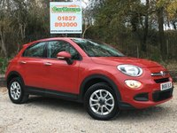 USED 2016 66 FIAT 500X 1.6 POP 5dr Low Miles, Cruise Control