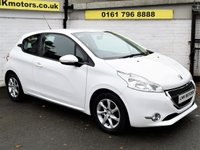USED 2013 13 PEUGEOT 208 1.2 ACTIVE 3d 82 BHP * FREE DELIVERY AND WARRANTY *