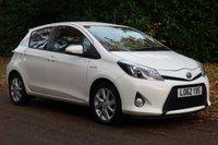 2013 TOYOTA YARIS 1.5 T SPIRIT HYBRID 5d AUTO 75 BHP £8000.00
