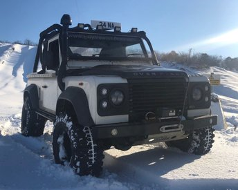 1991 LAND ROVER 90 2.4TD 90 Pick up, convertible 4X4 px swap £9590.00