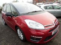USED 2011 CITROEN C4 PICASSO 1.6 EXCLUSIVE HDI EGS 5d AUTO 110 BHP