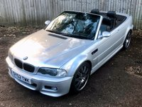 USED 2002 52 BMW M3 3.2, Convertible, manual, Px Swap