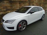 2014 SEAT LEON 2.0 TSI CUPRA DSG 3d AUTO 276 BHP £15850.00