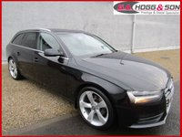 "USED 2012 12 AUDI A4 2.0 TDI AVANT SE TECHNIK 5dr 136 BHP **LOCAL OWNER VEHICLE** **19""ALLOYS, BLACK LEATER & PRIVACY GLASS**"