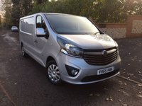 USED 2015 65 VAUXHALL VIVARO 1.6 2900 L2H1 CDTI P/V SPORTIVE 1d 114 BHP PLEASE CALL TO VIEW