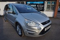 2013 FORD S-MAX 2.0 TITANIUM TDCI 5d AUTO FULL FORD HISTORY  £8390.00