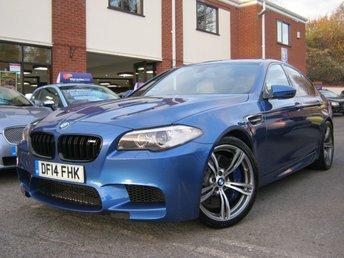 2014 BMW M5 4.4 M5 4d AUTO 553 BHP