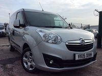 USED 2015 15 VAUXHALL COMBO VAN SWB 1.3 2000 L1H1 CDTI S/S SPORTIVE 90 BHP 1 OWNER FSH NEW MOT FREE 6 MONTH AA WARRANTY INCLUDING RECOVERY AND ASSIST NEW MOT ELECTRIC WINDOWS REAR PARKING SENSORS ECO STOP/START TWIN SIDE LOADING DOORS