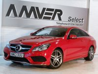 USED 2014 63 MERCEDES-BENZ E CLASS 2.1 E250 CDI AMG SPORT 2d AUTO 204 BHP