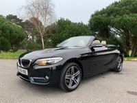 USED 2016 66 BMW 2 SERIES 1.5 218I SPORT 2d 134 BHP BMW WARRANTY FSH JUST SERVICED LOVELY COLOUR SCHEME