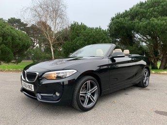 2016 BMW 2 SERIES 1.5 218I SPORT 2d 134 BHP £15950.00