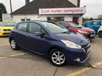 USED 2014 64 PEUGEOT 208 1.2 Active 5 door