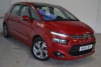 2014 CITROEN C4 PICASSO 1.6 E-HDI EXCLUSIVE ETG6 5d AUTO 113 BHP £9000.00