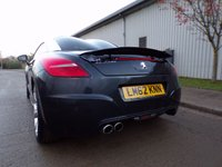 USED 2012 62 PEUGEOT RCZ 1.6 THP GT 2d 156 BHP SAT NAV FULL LEATHER HEATED SEATS PART EXCHANGE AVAILABLE / ALL CARDS / FINANCE AVAILABLE