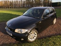 2006 BMW 1 SERIES 2.0 120I SE 5d AUTO 148 BHP Full BMW History ONE Owner £3995.00