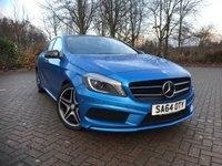 2014 MERCEDES-BENZ A CLASS 2.1 A200 CDI AMG SPORT 5d 136 BHP £13295.00