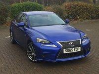 2015 LEXUS IS 2.5 300H F SPORT 4d AUTO 220 BHP £19495.00