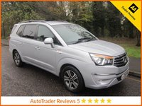 USED 2014 64 SSANGYONG RODIUS TURISMO 2.0 EX 5d AUTO 155 BHP Great Value Automatic Ssangyong Rodius EX with Seven Seats, Full Grey Leather, Climate Control, Cruise Control, Heated Seats, Four Wheel Drive and Ssangyong Service History
