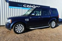 2013 LAND ROVER DISCOVERY 4 3.0 4 SDV6 XS 5d AUTO 255 BHP £21605.00