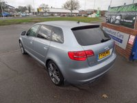 USED 2009 09 AUDI A3 2.0 SPORTBACK TDI S LINE SPECIAL EDITION 5d 138 BHP