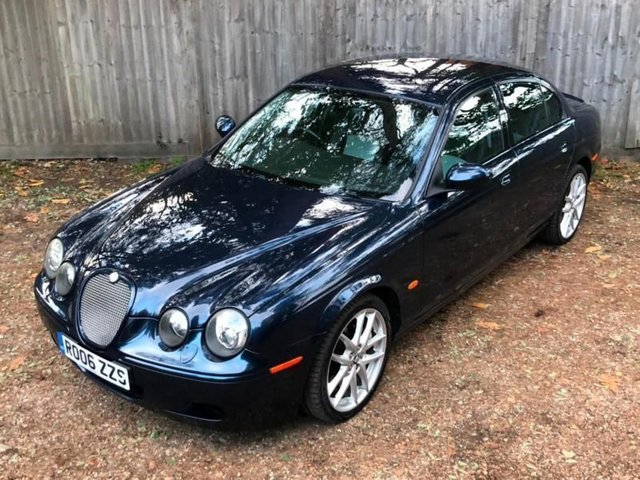 2006 JAGUAR S-TYPE R, 4.2 V8 auto, Supercharged PX, Swap