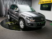 USED 2013 63 VOLKSWAGEN TIGUAN 2.0 MATCH TDI BLUEMOTION TECHNOLOGY 4MOTION 5d 139 BHP £0 DEPOSIT FINANCE AVAILABLE, AIR CONDITIONING, AUTO HOLD, BLUEMOTION TECHNOLOGY, BLUETOOTH CONNECTIVITY, CLIMATE CONTROL, DAB RADIO, ELECTRONIC PARKING BRAKE, PARKING SENSORS, SATELLITE NAVIGATION, STEERING WHEEL CONTROLS, TRIP COMPUTER