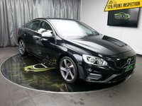 """USED 2014 14 VOLVO S60 1.6 D2 R-DESIGN 4d 113 BHP £0 DEPOSIT FINANCE AVAILABLE, TRIP COMPUTER, DAB RADIO, 5"""" COLOUR SCREEN, ANTI-THEFT ALARM, AUX SOCKET, SPORTS SEATS."""