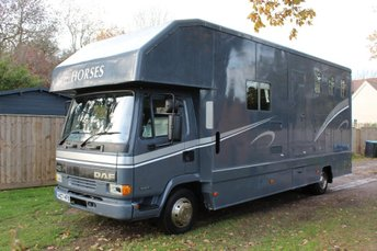 2001 DAF TRUCKS 45 SERIES FA 45.150 HORSE BOX VAN £15000.00